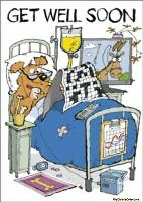 Get Well Soon Puzzle More Crossword John Bigwood Novelty book New Book Free UK D