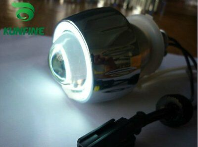 Motorcycle Bi-Xenon HID Projector Lens Kit Angel eEyes With Slim Ballast