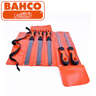 Bahco - 10 Inch / 250 mm 5 Piece Assorted Engineers File Set - 14781012