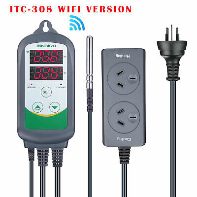 2400W ITC-308 wifi Digital Temperature Controller heater cooling home brewing