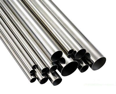 10Mm Od X 8Mm Id (1Mm Wall) 316 Seamless Stainless Steel Tube X 500Mm