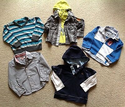 Bundle Of Tops, Shirts,12-24 Months
