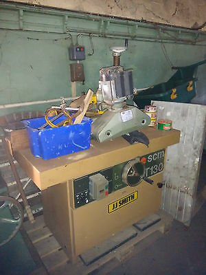 SCM T130 SPINDLE MOULDER with power feed