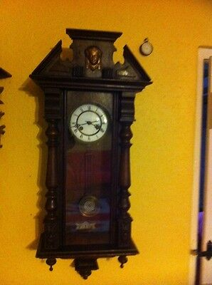 Antique Vienna Wall Clock For Spare Or Repair