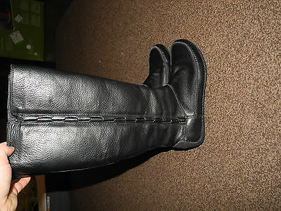 Clarks ladies leather boots size 4