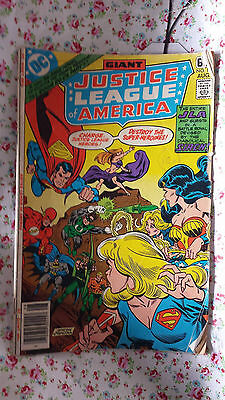 Giant Justice League Of America 1978 US Issue 157 DC Comics Worn Condition