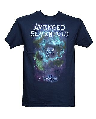 AVENGED SEVENFOLD - THE STAGE NAVY - Official Licensed T-Shirt - New M L XL
