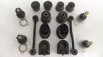 Jeep Grand Cherokee WG WJ Front Lower Upper Ball Joints & Bush Kit W/Front Links