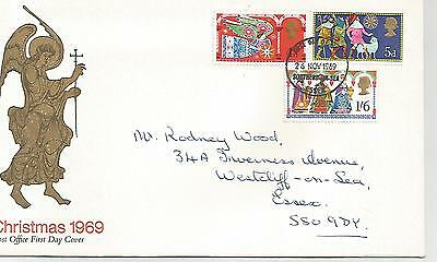 first day covers  Christmas  1969