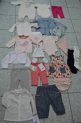 BN Mamas and Papas Girls Large Bundle Clothes Skirts Tops Shorts Leggings+ 0-3M