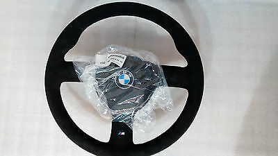 BMW M3 E30 Sport Evolution Steering Wheel Suede EVO3 Genuine Lenkrad NLA