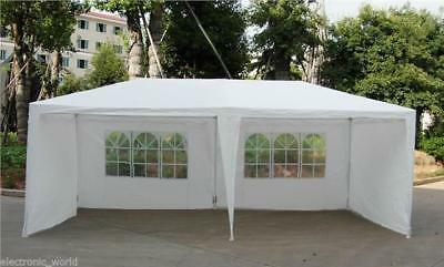 3M X 6M GARDEN GAZEBO TENT MARQUEE OUTDOOR WATERPROOF PARTY AWNING CANOPY NEW Ne