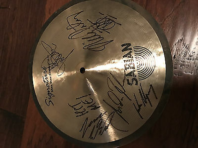Dream Theater Autographed Sabian Cymbal Signature Series Portnoy 14""