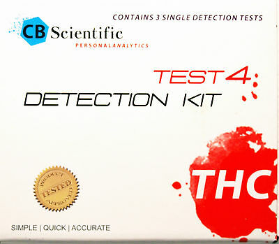 Cannabis THC potency  test  3 tests
