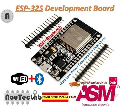 ESP32 Development Board WiFi+Bluetooth Dual Cores ESP-32 ESP-32S Ultra-Low Power
