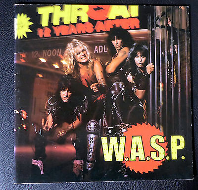 WASP,original japanese tour book, 32 pages,1984,W.A.S.P.