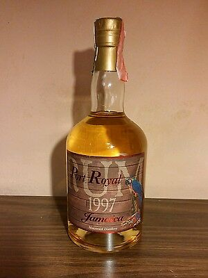 Jamaica Rum Monymusk 1997 Port Royal, 70 cl, 46%, 370 bottles edition