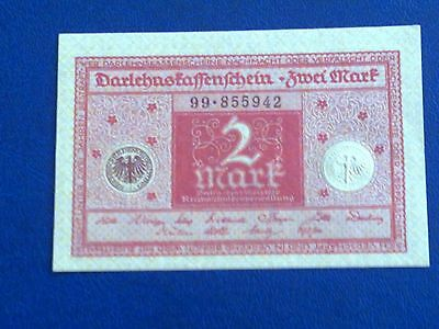 Germany - 2 Mark 1920 -  Almost Uncirculated