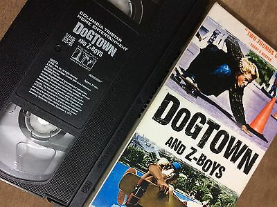 Dogtown and Z boy's the birth of extreme Skateboard VHS Tape