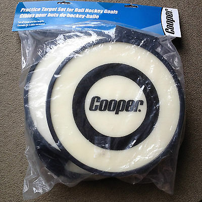 Cooper Ball Hockey Shooting Targets for Goal Net Practice Shots New Foam Targets