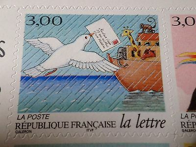 FRANCE 1998, timbre AUTOADHESIF 3156, LETTRE, COLOMBE, neuf**, MNH STAMP, BIRD