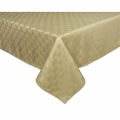 Reflections 52 by 70-Inch Rectangle Tablecloth, Khaki