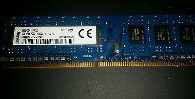 KINGSTON RAM DDR3  4GB 1Rx8 PC3L-12800U-11-12-A1