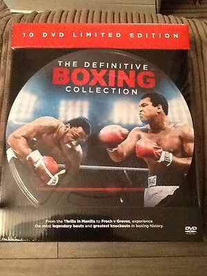 10 Dvd Limited Edition Ultimate Boxing Collectors Edition.