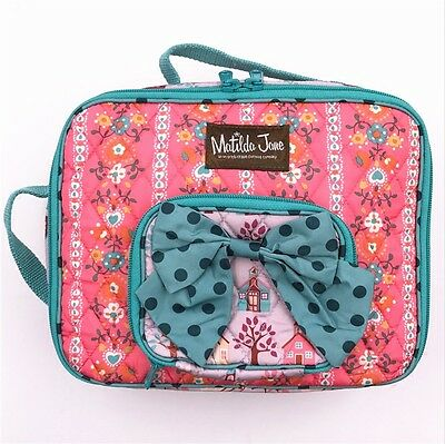 MATILDA JANE Lesson Plan LUNCHBOX School Houses Lunch Zipper Bag