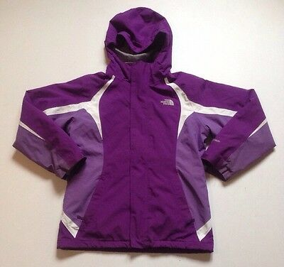The North Face Girl's Two Tone Purple 2Pc Hyvent System Jacket Size Large 14/16