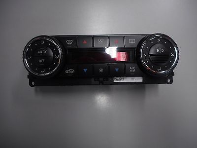 Genuine Mercedes-Benz climate control panel