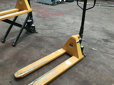 High Lift Pallet Truck 1 Ton Capacity