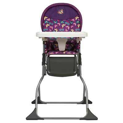Portable Baby High Chair Compact Folding Seat Convertible Toddler Infant Feeding