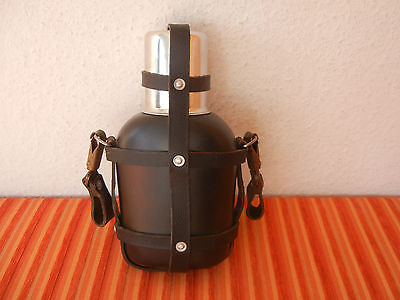 SWISS Army MILITARY CANTEEN ca. 1978 ambulance rare  saddler vintage bottle CH