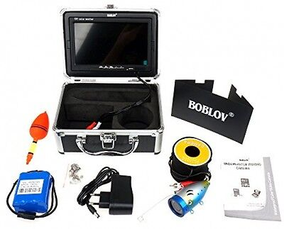 30m IR 7 Inch 1000TVL Fish Finder Underwater Video Camera Fishing Equipment New