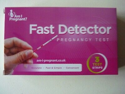 Pregnancy Test Kit Accu Over 99% Accurate - 3 Pack Results In 5 Minutes