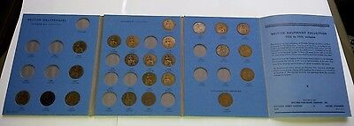Part Collection Halfpennies In Whitman Folder 1902 To 1936 23 Coins