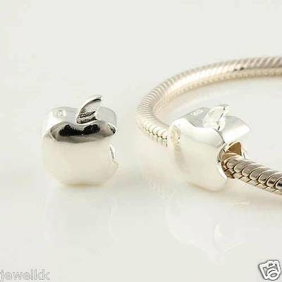 Silver Charm APPLE ALE S925 Genuine PANDORA Box PLATA DE LEY