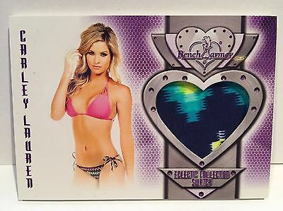 2016 Benchwarmer Eclectic Swatch Card Carly Lauren (2 Postage Options for USA)