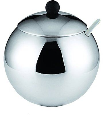 Cuisinox Sugar Bowl with Spoon, Stainless Steel