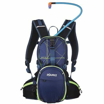 Source Race 3L Hydration Bladder and Pack - Blue/Green