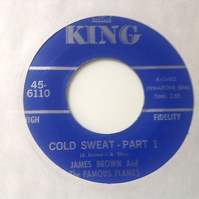 James Brown-Cold Sweat Parts 1&2-King 6001.vg+