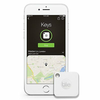 Key Finder Pack of 4 New Bluetooth Tracker Tile Gen 2 Phone Finder Item Finder