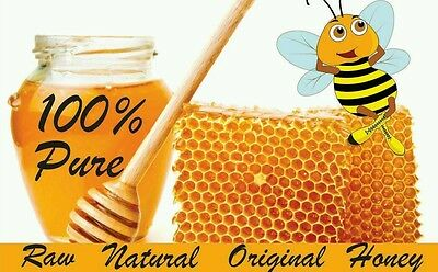 1kg 100% Pure Raw Homemade Organic Honey Perfect Quality