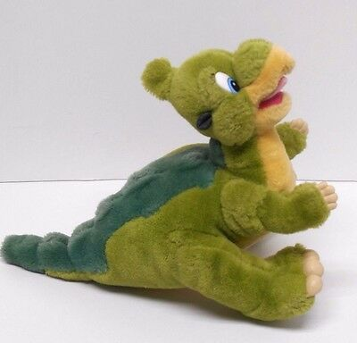 LAND BEFORE TIME Ducky Dinosaur Plush Stuffed Vintage Toy JCPenney Amblin 1988