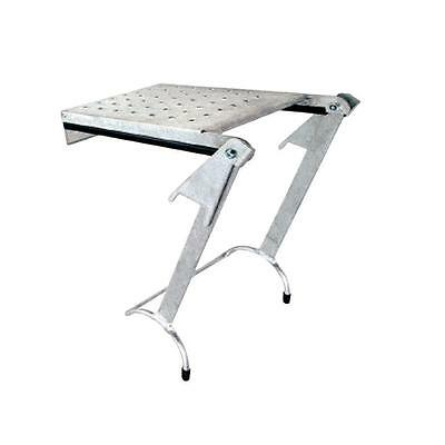 Little Giant Ladder Systems Platform Work Ladder Tray Aluminum 375 lbs Rated