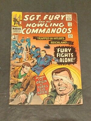 Sgt. Fury and His Howling Commandos #27 (Feb 1966, Marvel)