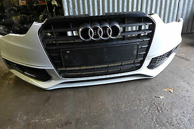 Genuine Audi A5 S Line Facelift 2012-2015 Complete Front Bumper Grill Fog Lamps