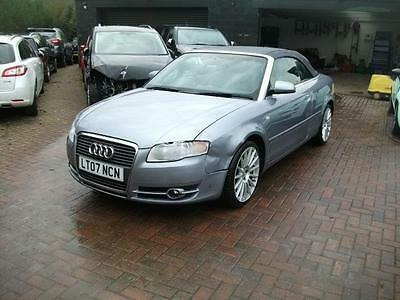 2007 Audi A4 Cabriolet 2.0T  AUTO LIGHT FRONT  SALVAGE DAMAGED REPAIRABLE