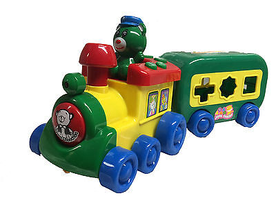 Tooot Tooot Drivers Motorised Train Toy Musical Shape Sorter Puzzle Train